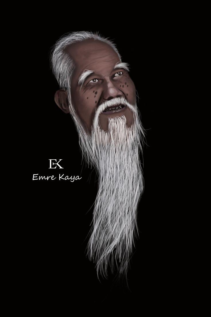 old man illustrations