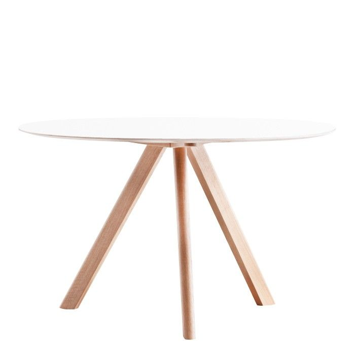 hay copenhague cph20 runder tisch hay design nest and dining. Black Bedroom Furniture Sets. Home Design Ideas