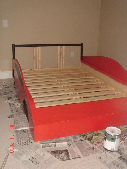 Race Car bed - IKEA Hackers - IKEA Hackers