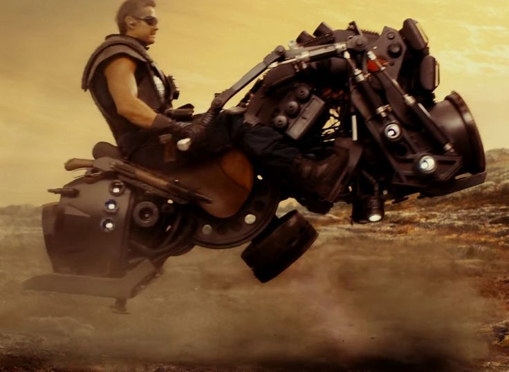 Hover bikes: good for rough terrain with no roads.