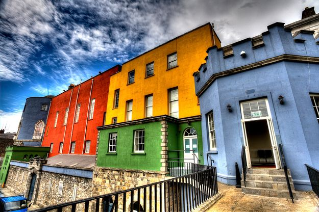 Dublin, Ireland | 15 Colorful Buildings That Will Brighten Up Your Day