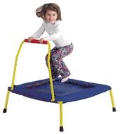 Indoor/Outdoor Safety Bouncer Nursery Junior Folding Trampoline for Kids