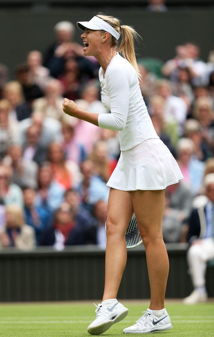 Maria Sharapova - first round Match on Day1 of the Wimbledon June 24-2013 #WTA #Wimbledon #Sharapova