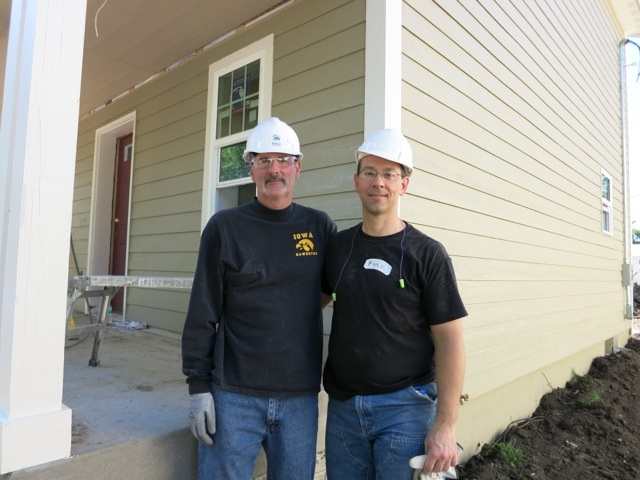 Several of Windsor's managers participated in a Habitat for Humanity build in Des Moines, Iowa, May 23, 2013. A second group will go to work on another home May 31.