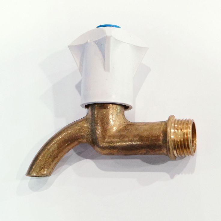 Кран водоразборный для умывальника, бронза