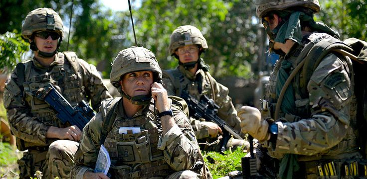 Royal Marines Commando Officer