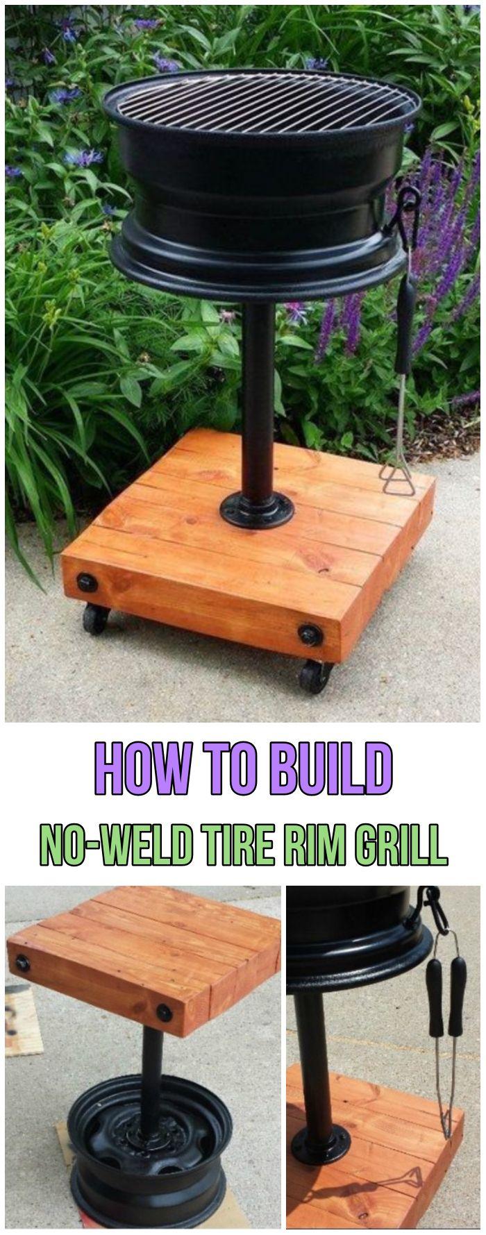 3 DIY Backyard BBQ Grills Projects | Diy backyard ... on Diy Bbq Patio id=11550