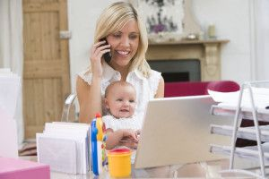 The best work at home business ideas for women. And there is also a huge list of 107 ideas. #momsworkfromhome