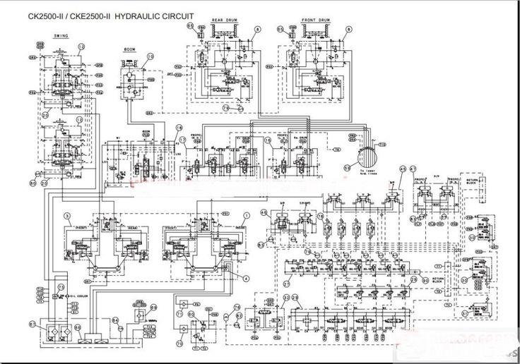 Kobelco Crane Shop Manual, Operator & Maintenance Manual