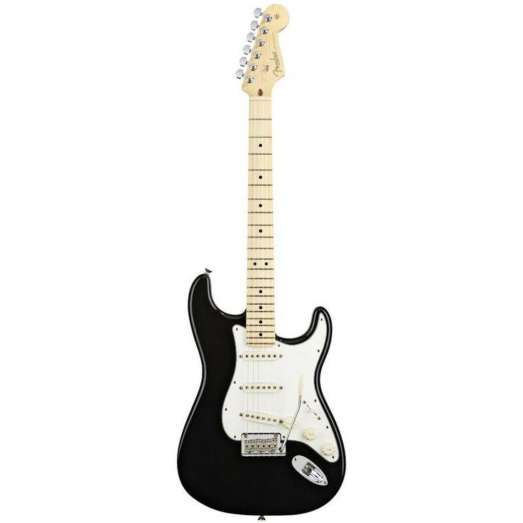 Fender American Standard Stratocaster 2012, Black, Maple Fretboard. #fender #stratocaster #electricguitar #guitar