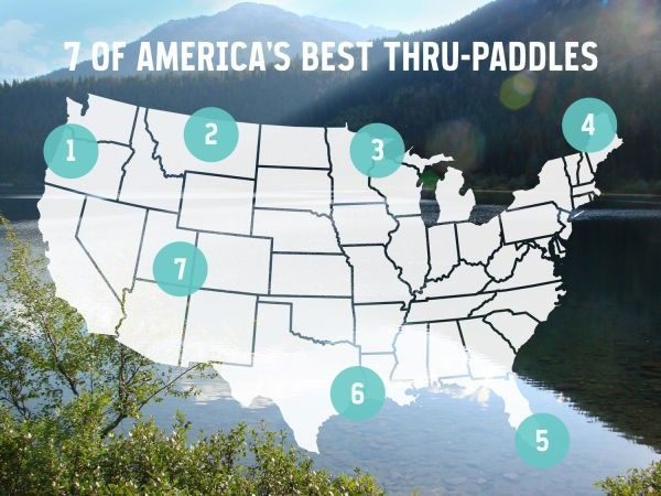 Beat the heat and kayak 7 of U.S.A.'s Best Thru-Paddles
