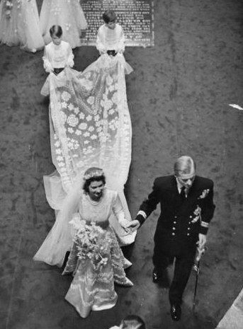 Queen Elizabeht's wedding