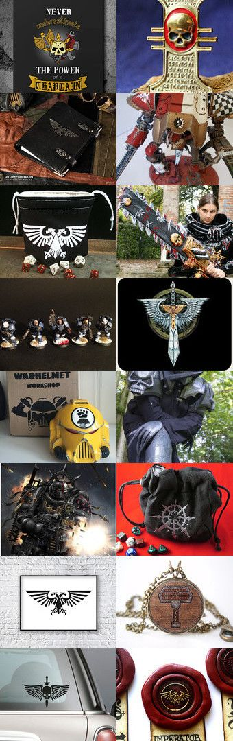 Warhammer Universe by Tata on Etsy--Pinned with TreasuryPin.com