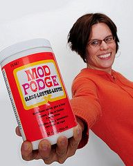 Mod Podge!!! I love this stuff.. can't get it in Australia... Bummer