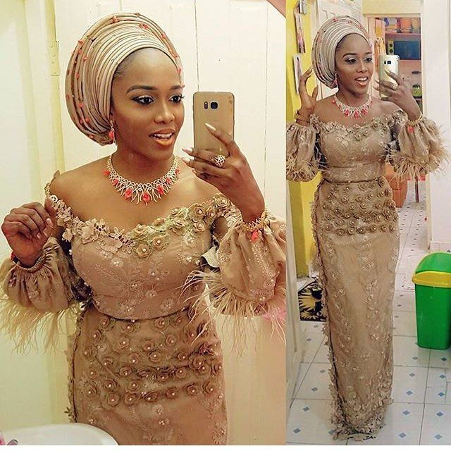 Image result for asoebi lace styles