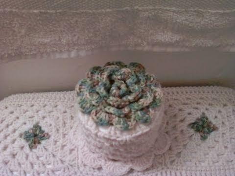 Gorro de papel higienico - Tutorial de tejido crochet