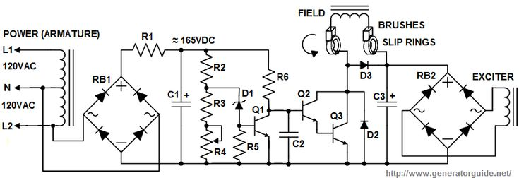 2003 Harley Davidson Ultra Wiring Diagram Generator Avr Schematic Diagram In 2020 Voltage