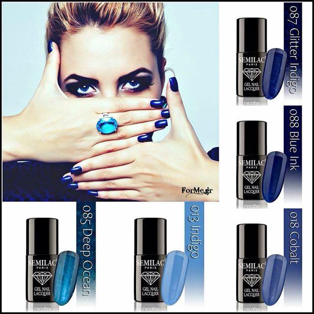 Blue Illusion by Semilac Paris