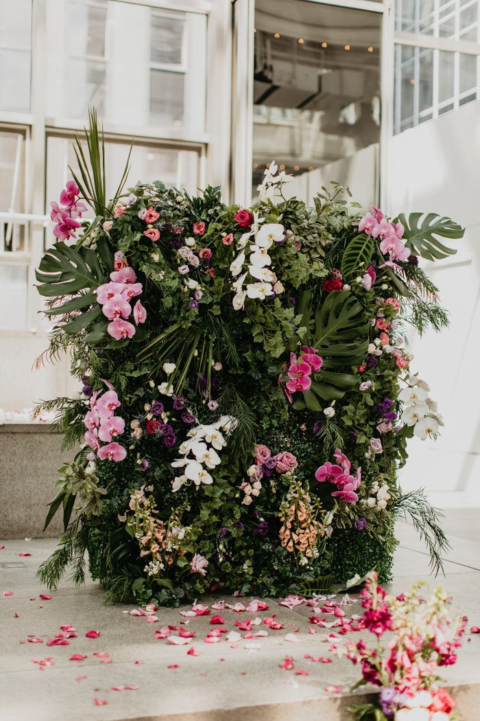 Whimsical Indoor Garden Wedding In The Heart Of Pittsburgh