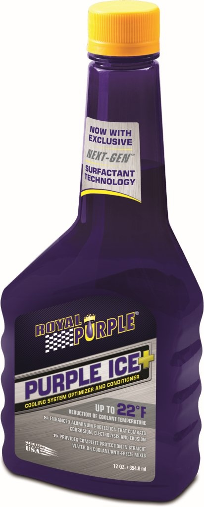 Purple Ice® is a high performance radiator conditioner. It's advanced 2-in-1 corrosion inhibitor and wetting agent provides year-round defense against corrosion. Purple Ice also reduces the surface tension of the radiator coolant to help reduce engine temperatures.