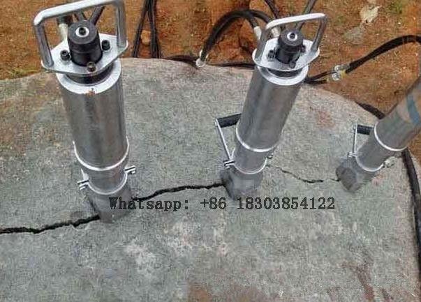 Hydraulic Rock Splitter Stone Breaker for Sale Concrete