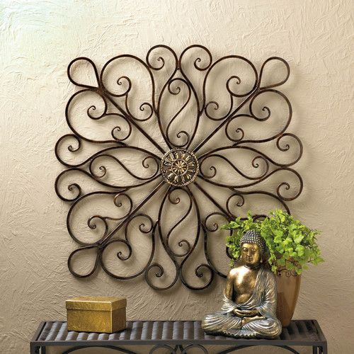 Found it at Wayfair - Scrollwork Iron Wall Décor