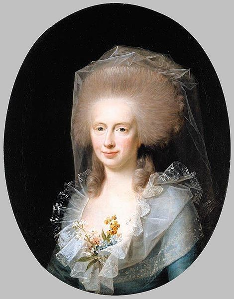 """Bolette Marie Lindencrone"", Jens Juel, 1786; location unknown"