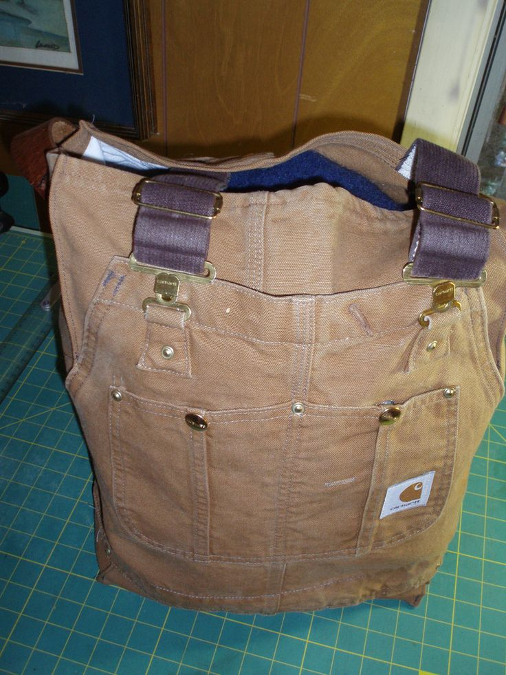 Bag Made From Recycled Carhartt Overalls Carhartt