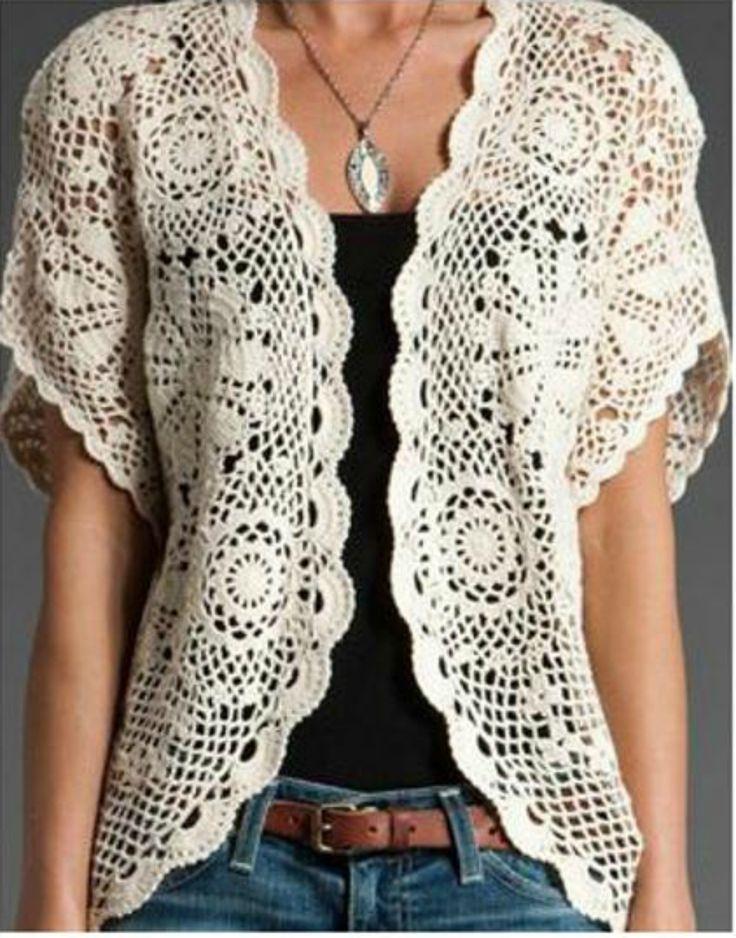 De 25+ bedste idéer inden for Crochet vest pattern på ...