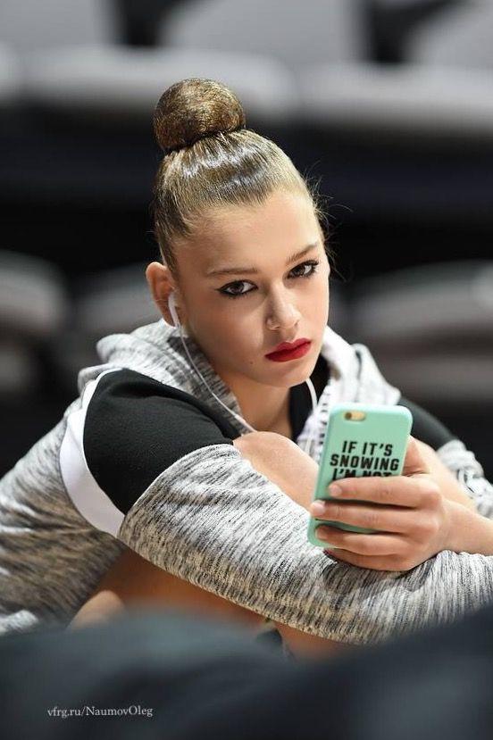 Alexandra SOLDATOVA (Russia) ~ Looks a little bit serious  @ training from WC Minsk 2016