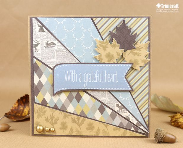 Thanksgiving is the perfect opportunity to remind your friends and family how much they mean to you! Today, Maxine is going to show you how to use our free toppers on these wonderful, Wild at Heart projects…