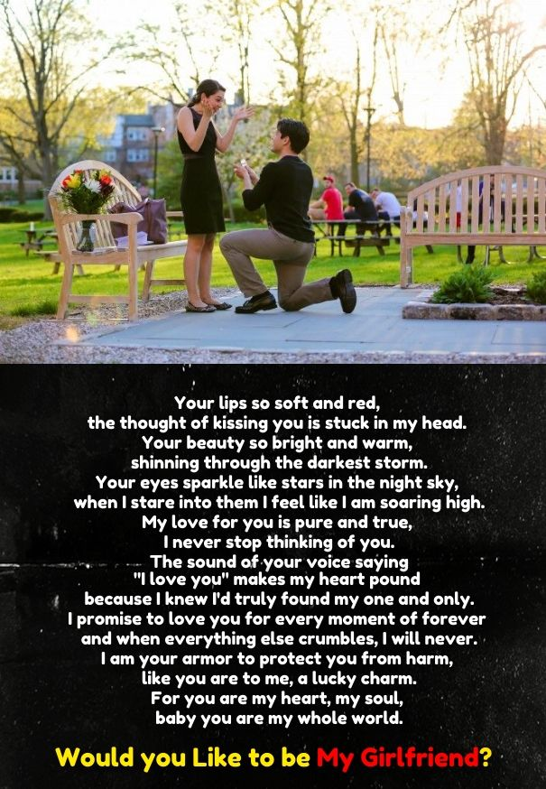 Will you be my girlfriend quotes
