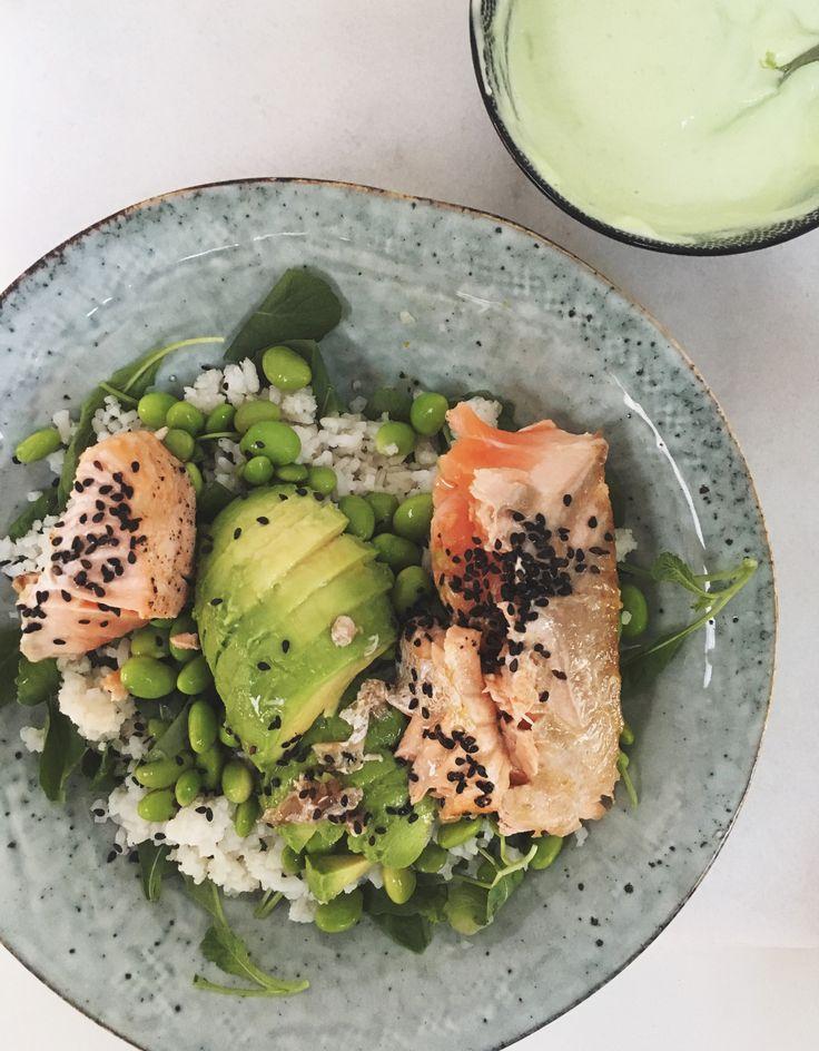 Culy Homemade: lazy sushi bowl met zalm en wasabi-mayo