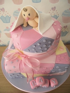 fatcakedesign: beautiful cake idea for baby shower