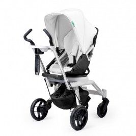 "Soar into ""Orbit"" with the revolutionary G2. This state of art stroller has a sleek modern look along with extreme functionality and power for an out of this world stroll locally or during travels far away. #stroller #baby #nessaleebaby"