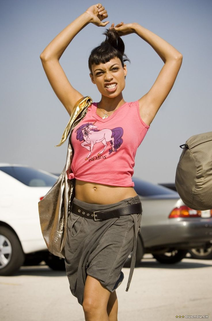 Rosario Dawson in Death Proof - one of my favorite actresses in one of my favorite movies.