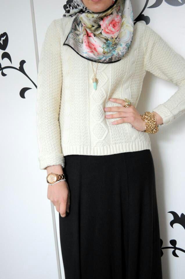 Lovely hijab! #hijab #fashion
