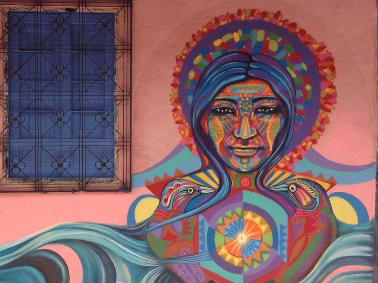 legal graffiti in Bogota