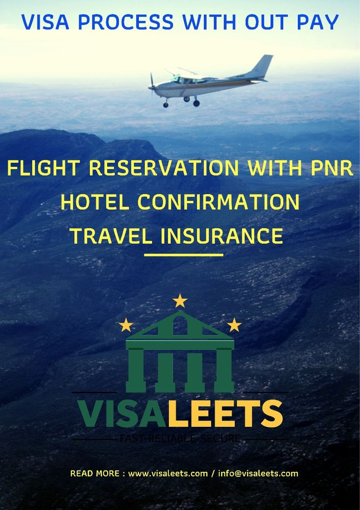 *VISA PROCESS WITH OUT PAY* *FLIGHT RESERVATION + HOTEL