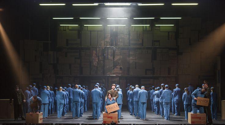 Turandot - Andrew Rees (Pang), Neal Cooper (Calaf), Paul Carey Jones (Ping), Anna Patalong (Liu), Eamonn Mulhall (Pong), Stephen Richardson (Timur),  The Chorus of Northern Ireland Opera - #TurandotBelfast