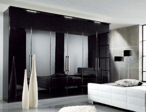 Luxury Nett schwarzer kleiderschrank g nstig
