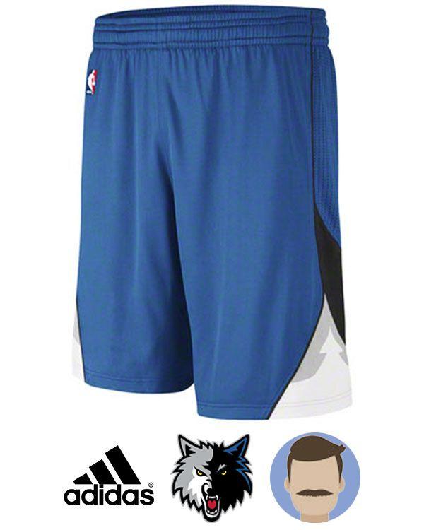 brand new dd2a9 f94cf minnesota timberwolves blue swingman short