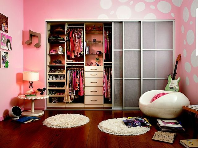 Fabulous Laminatboden Kleiderschrank Stuhl Jugendzimmer M dchen