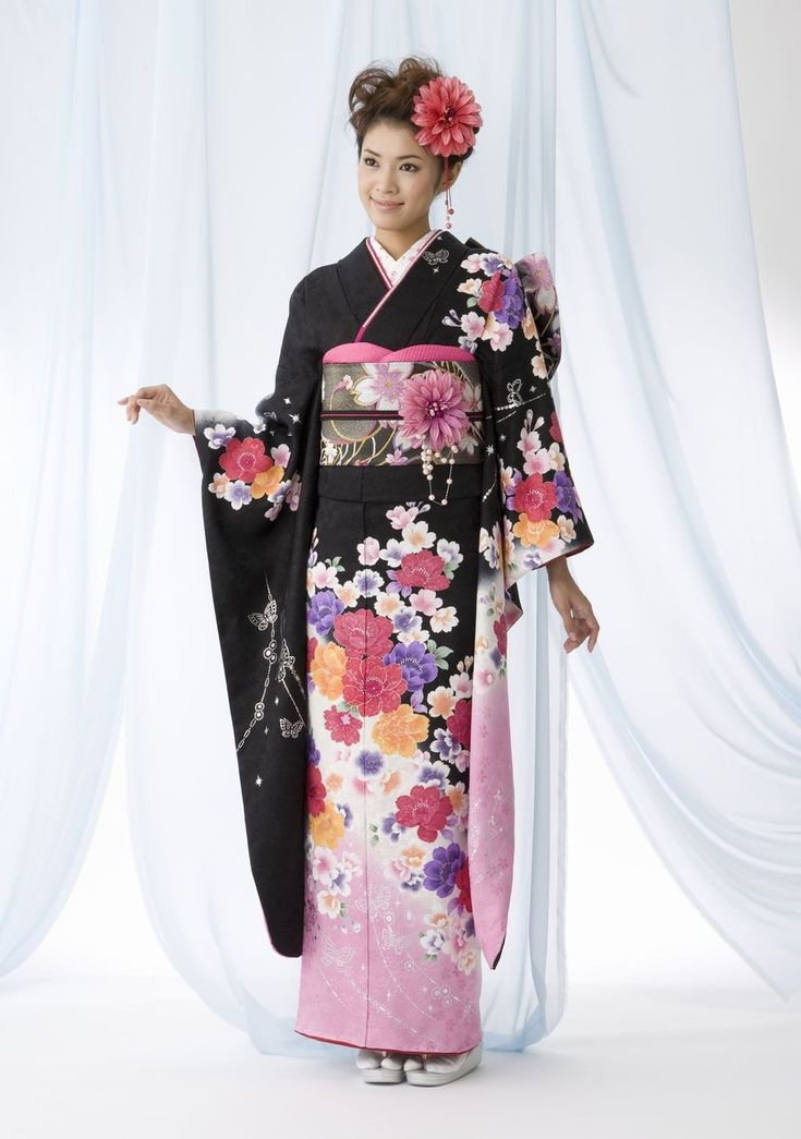 japanese girl wearing kimono - photo #3