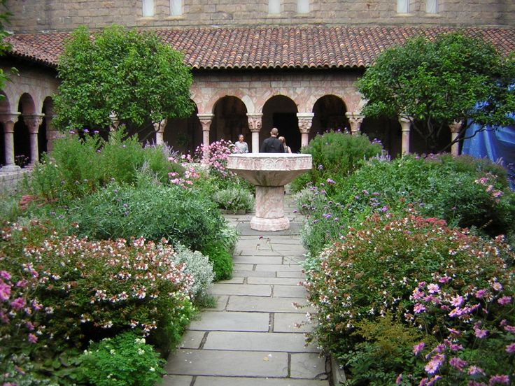 The Cloisters in northern Manhattan. Beautiful in every season.