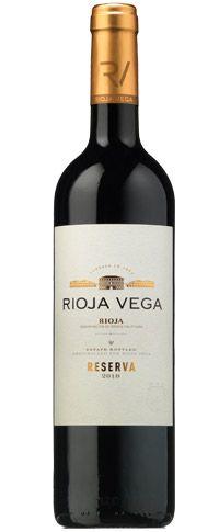 Rioja Véga  Réserva 2010 vinoseleccion.fr | Collection de 6 Reservas de Rioja