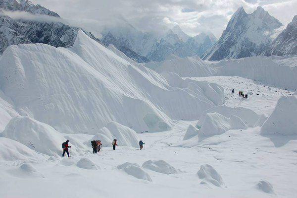 Glaciers in  Gilgit Baltistan