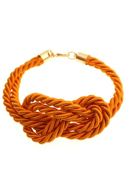 Knotted Double-Rope Bracelet