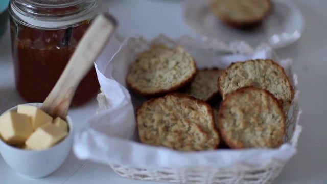 Sanna makes a traditional Swedish rusk recipe with an orange twist. Great with tea on a cold day.