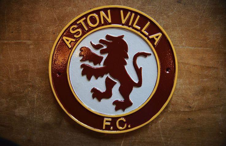 VINTAGE ASTON VILLA F.C. BADGE SIGN PLAQUE - QUALITY AVFC MEMORABILIA SIGN RETRO